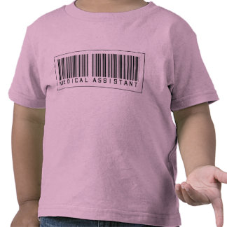Barcode Medical Assistant Tee Shirt