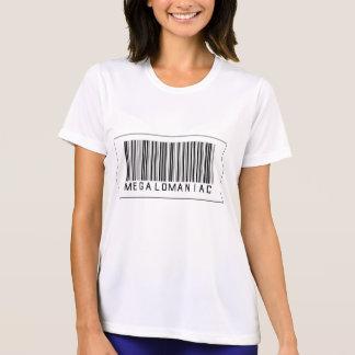 Barcode Megalomaniac Shirt