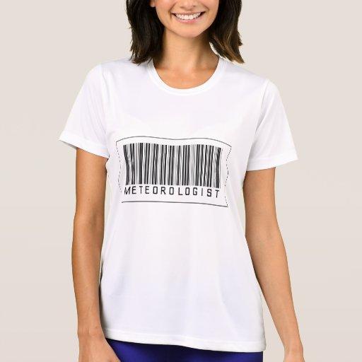 Barcode Meteorologist Shirts
