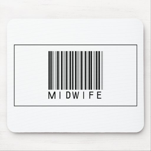Barcode Midwife Mouse Pad