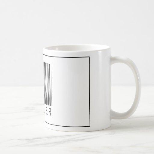 Barcode Miller Classic White Coffee Mug