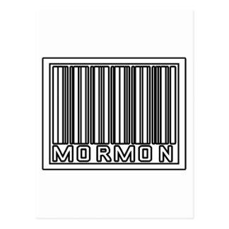 Barcode Mormon Post Cards