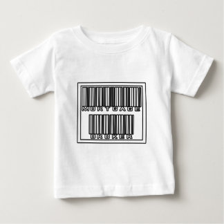 Barcode Mortgage Broker Baby T-Shirt
