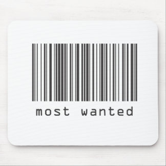 Barcode - Most Wanted Mouse Pad