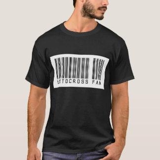 Barcode Motocross Fan T-Shirt