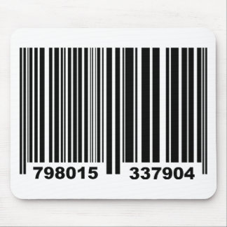 Barcode. Mouse Pad