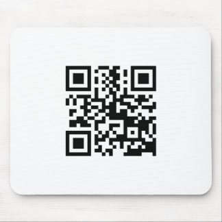 Barcode mousemat mouse pad
