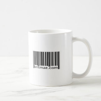 Barcode Classic White Coffee Mug