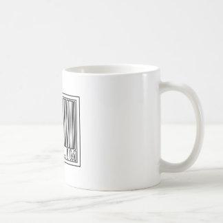 Barcode Muslim Classic White Coffee Mug