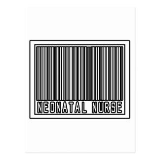 Barcode Neonatal Nurse Postcard