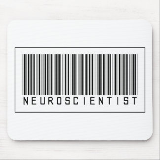 Barcode Neuroscientist Mouse Pad