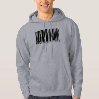 Barcode - Not for Sale Hoodie
