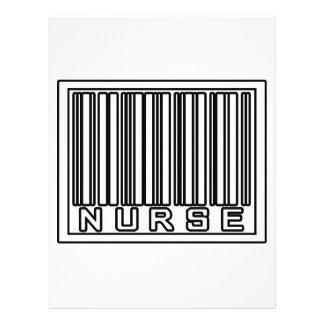 Barcode Nurse Flyer Design
