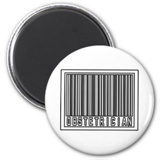 Barcode Obstetrician Magnets