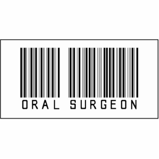 Barcode Oral Surgeon Photo Cut Outs