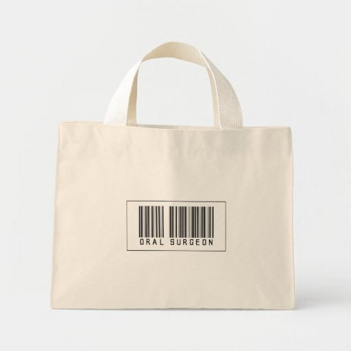 Barcode Oral Surgeon Tote Bag