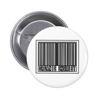 Barcode Organic Chemist Buttons
