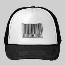 Barcode Pediatric Nurse Trucker Hats