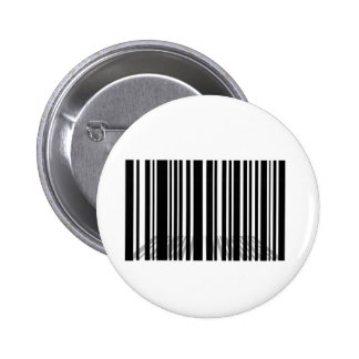 Barcode Pinback Button