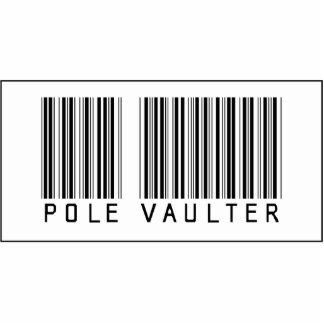 Barcode Pole Vaulter Photo Cutout