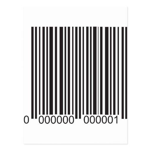 Barcode Postcard