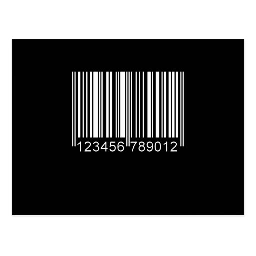 BARCODE POSTCARDS