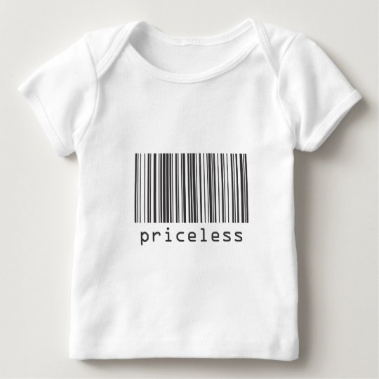 Barcode - Priceless Baby T-Shirt