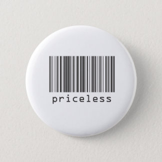 Barcode - Priceless Pinback Button