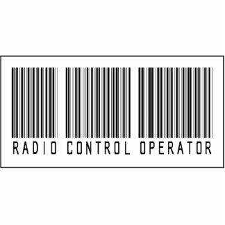 Barcode Radio Control Operator Photo Sculpture Ornament