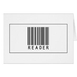 Barcode Reader Card