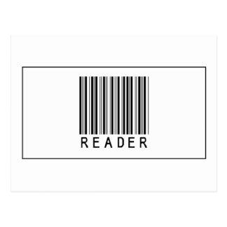 Barcode Reader Postcard