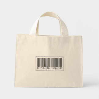 Barcode Respiratory Therapist Canvas Bag