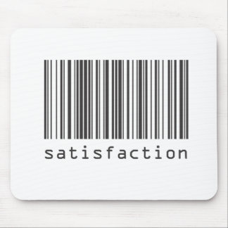 Barcode - Satisfaction Mouse Pad