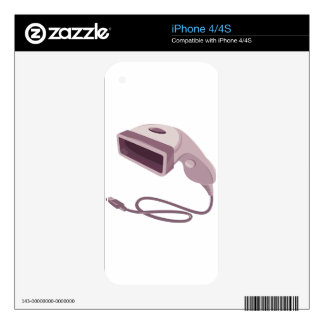 barcode scanner reader usb cable iPhone 4 skins