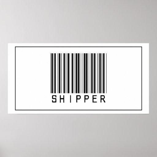 Barcode Shipper Poster