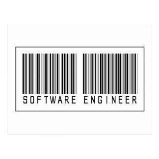Barcode Software Engineer Postcard