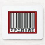 Barcode Spanish Mouse Pad