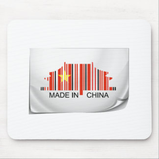 Barcode sticker made in China Mousepad