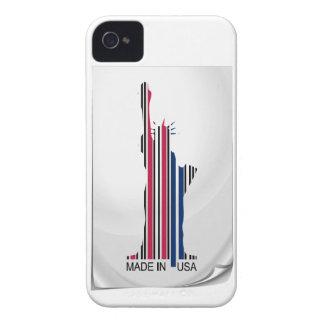 barcode sticker made in usa iPhone 4 Case-Mate case