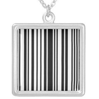 barcode stripes custom jewelry
