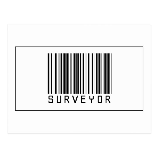 Barcode Surveyor Postcard
