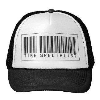 Barcode Tire Specialist Trucker Hat