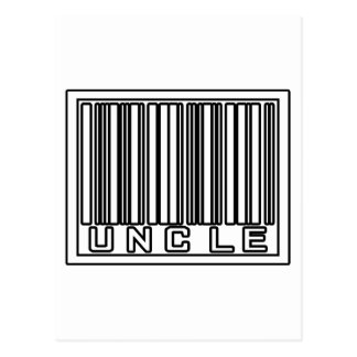 Barcode Uncle Postcard