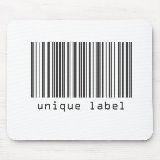Barcode - Unique Label Mouse Pad