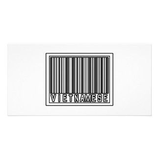 Barcode Vietnamese Picture Card