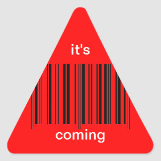 'Barcode Warning' Sticker
