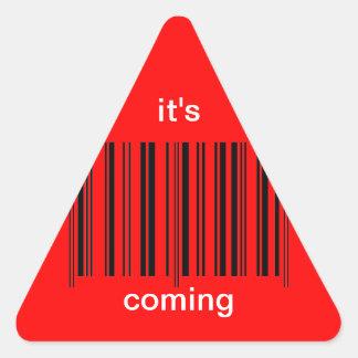 'Barcode Warning' Sticker