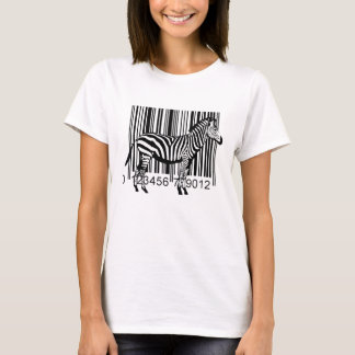 Barcode Zebra illustration T-Shirt