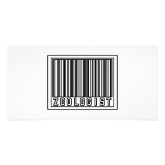 Barcode Zoologist Picture Card