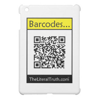 Barcodes Case For The iPad Mini